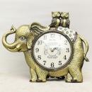 인테리어 탁상 시계 코끼리와부엉이G/장식소품 장식품