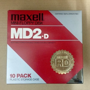 Maxell MD2 Disks 5 1/4 플로피디스크 디스켓 (1장)