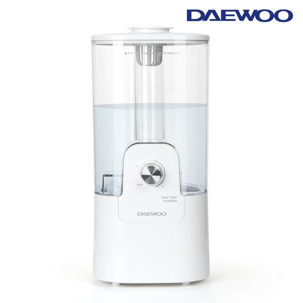 저소음 간편세척 가습기 4.5L 대용량 DEH-X1500 화이트