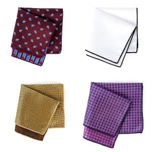 (2개묶음)행거치프 포켓치프 수트 정장 패턴 무늬 라