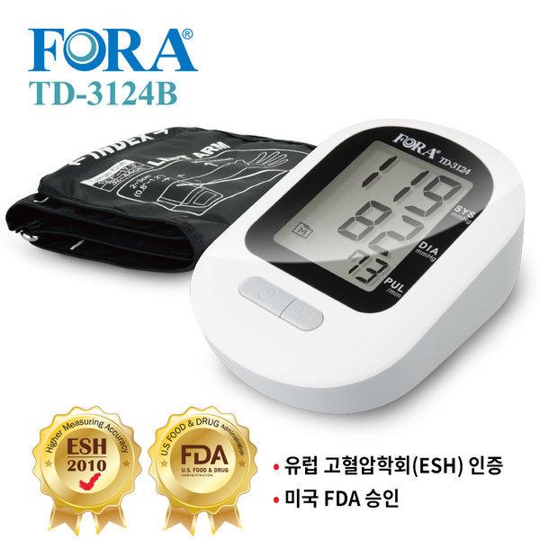 유진포라 자동혈압계 혈압측정기 TD-3124B (간단 조작)