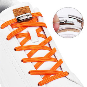 자석 신발끈 H029 금속 단추 운동화끈 구두끈 매듭NO