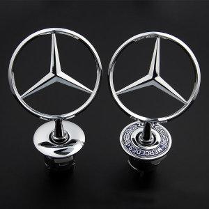 벤츠 Mercedes-benz 스타 로고 후드 엠블러 C E S