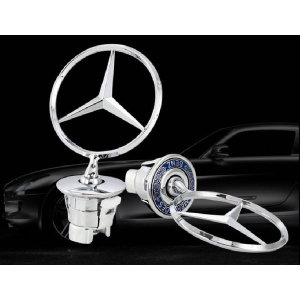 벤츠 Mercedes-benz 스타 로고 후드 엠블러