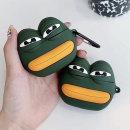 에어팟프로3세대 개구리 실리콘 케이스_슬픔이282/PRO