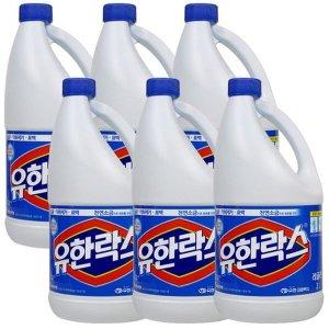 유한락스 레귤러 2L X 6개(1박스) 살균/소독
