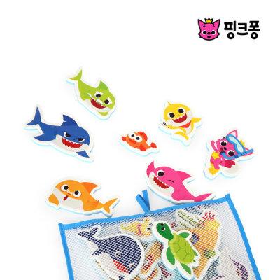 [핑크퐁] 핑크퐁 상어가족 목욕놀이 스티커
