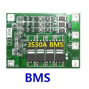 3S30A bms 배터리충 방전보호 리튬배터리 밸런스회로