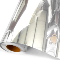 다용도 안전 접착 거울시트지 필름 (폭100)(길이50cm)
