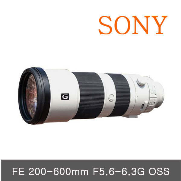 BS 소니FE 200-600mm F5.6-6.5 G OSS 정품SEL200600G