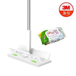 표준형 올터치 더블액션 막대걸레+베이직 물걸레 30매