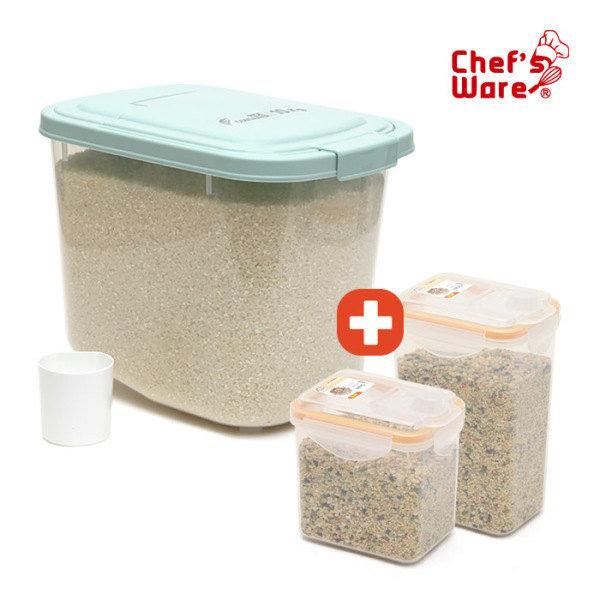 쌀통10kg+잡곡통2개 총3종SET