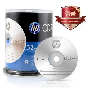 HP 700MB CD-R 100P/100장 케이크통 포장/케익통/케익