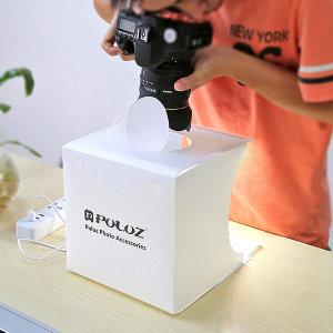 Puluz정품 LED 미니 포토박스 휴대용 스튜디오 악세사