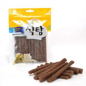오션 식탐 국내산 강아지 양고기 져키 간식 90g