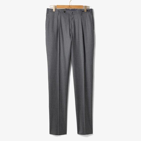 (PT01)SLIM FIT 1 PENCE WOOL PANTS GRAY/PT92M30002A13