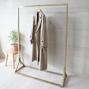 행거의제왕 의류매장용 디자인 골드 헹거 튼튼한 철제