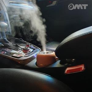 OMT 차량용 무드등 LED USB 가습기 OHM-A1 280ml 핑크