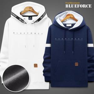 겨울신상 후드티/맨투맨티/기모집업남자옷커플티셔츠