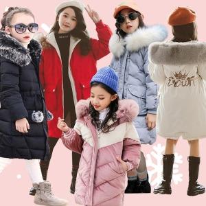 9 쥬 주니어의류 롱패딩 초등학생옷 코트/A주점퍼1