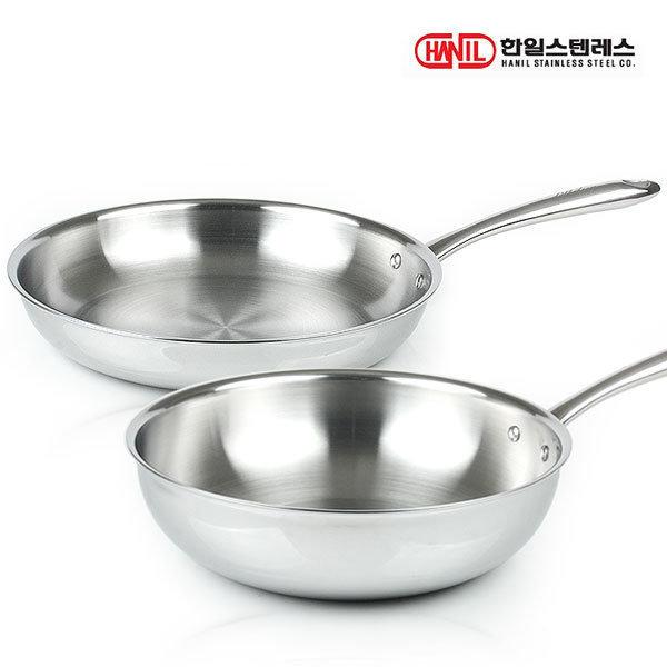 올파이브 통오중 스텐후라이팬 2종세트(30후+30궁)