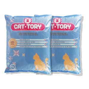 캣토리 고양이 모래 무향  15L 2개 (벤토나이트)