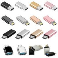 C타입 마이크로5핀 라이트닝8핀 USB OTG 휴대폰젠더