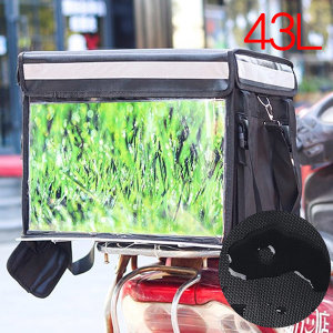43L오토바이 배달가방 통 보냉 대용량 방수 퀵 바이크