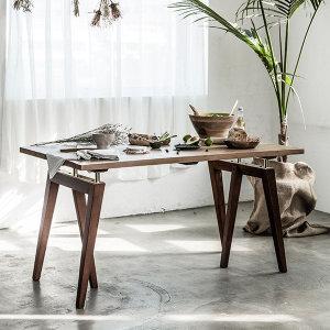 매스티지데코  마이 시그니처 런더너 원목 테이블 1400(빈티지)