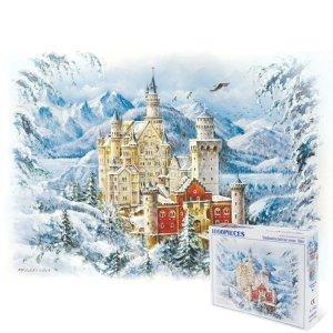 슈반스타인성 사계 겨울 1000피스 풍경 직소퍼즐