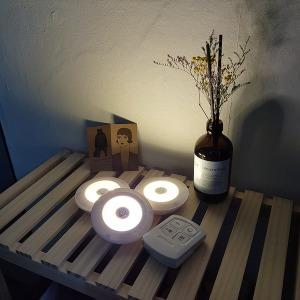 (판매율1위) LED 롱거라이트 램프3+리모컨1