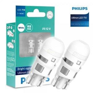 C 필립스 울티논 LED T10 차량용 램프1SET 실내등