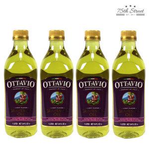 오타비오 포도씨유 1L x 4개 포도씨오일 올리브유
