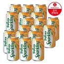 트로피카나 스파클링 오렌지 355ml 6번들 3입 (18캔)