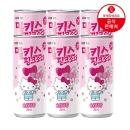 밀키스 핑크소다 솜사탕맛 250ml 6캔 헬로키티 에디션
