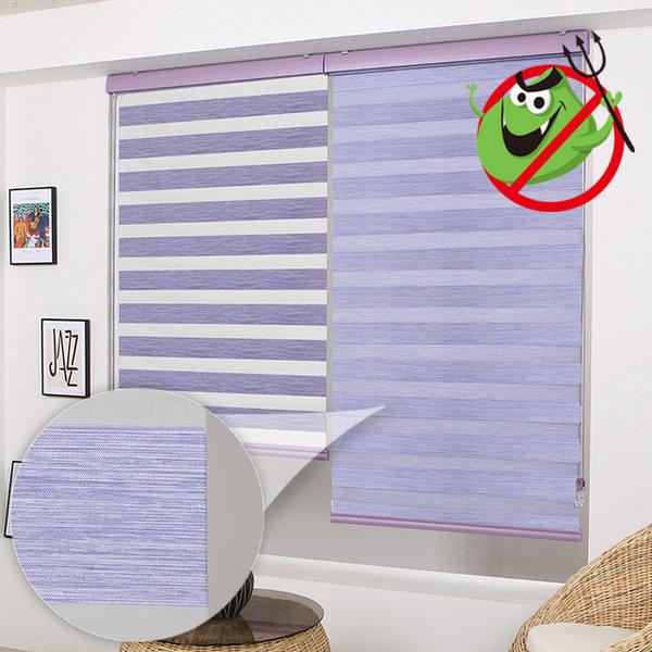 항균 콤비블라인드 롤스크린 거실 창문 친환경 에코