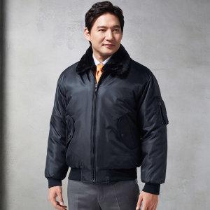 KSK-19-A 남성 추동 점퍼 블랙 회사유니폼 근무복 작