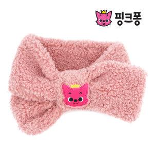핑크퐁 쁘띠양털 목도리 유아동목도리 캐릭터 목도리