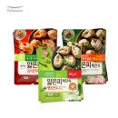 얇은피만두 혼합 6봉 (고기+김치+땡초/각2봉)