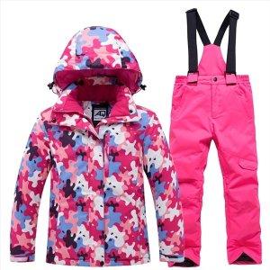 남녀 어린이 스키복세트 겨울 어린이 보드복세트