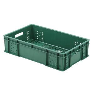 31.빵상자(대) 녹색 플라스틱 바구니 상자 빵박스