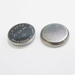 단추 건전지 CR 2032 1Px2 와이어 LED 용 배터리 정품