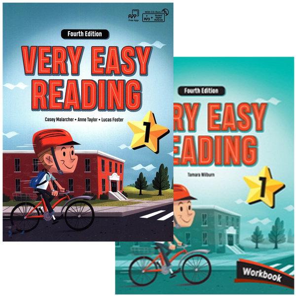Very Easy Reading 1단계 (S+W) 세트 4/E / 휴대폰거치대 증정