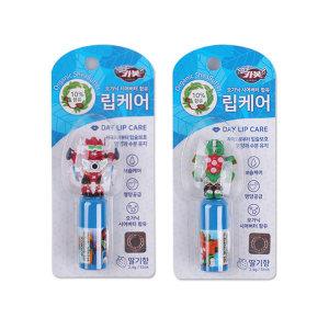 헬로카봇 피규어 립케어 랜덤 2개/립밤/입술보습