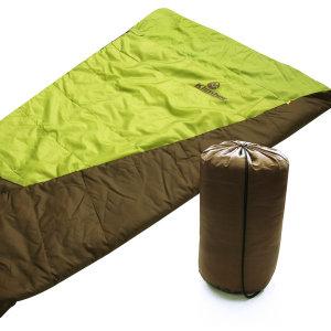 2인용침낭 침대용 난방 사각형  캠핑 3계절 등산 낚시