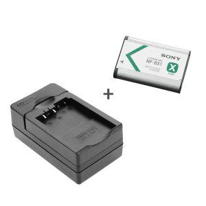 소니액션캠 전용 NP-BX1정품 배터리+호환충전기 _찰스