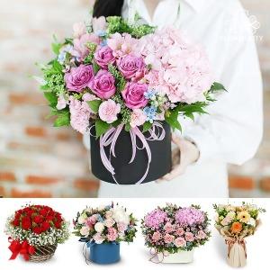 꽃바구니배달 당일꽃배달서비스 꽃다발 생일 선물