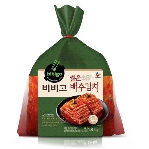 씨제이_비비고썰은배추김치_1.8kg