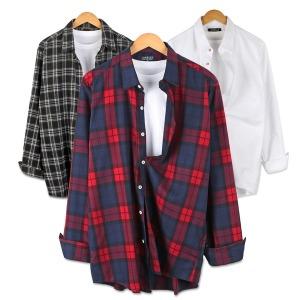 겨울신상오픈 남성 남자 셔츠 남방 와이셔츠 청남방