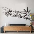비행기스티커 아이방벽지 벽면인테리어스티커